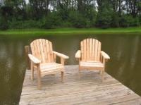 Click to enlarge image <B>GARDEN CHAIR 20&quot; SEAT WIDTH</B> - <B>THIS CHAIR IS VERY EASY TO GET IN AND OUT OF</B>