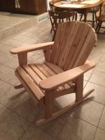 Click to enlarge image <B>GARDEN ROCKER CHAIR 23&quot; SEAT WIDTH</B> - <B> ROCKING CHAIRS PROVIDE BLISSFUL SOOTHING RESPITE FROM DAY TO DAY LIFE</B>